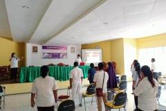 Pelatihan Penanganan Pasien Perilaku Kekerasan  Dengan Metode Restrain  & Pelatihan Asuhan Keperawatan