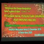 Perayaan Natal Persekutuan Ouikumene RSKD Provinsi Maluku - 13 Desember 2019