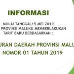 TARIF PELAYANAN RSKD PROVINSI MALUKU 2019